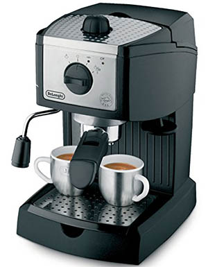delonghi ec155 design