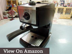 espresso machine delonghi ec155 review