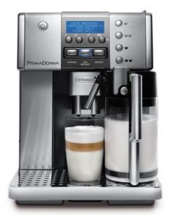 most expensive cappuccino maker - The Gran Dama by De'Longhi - costs way less than that.