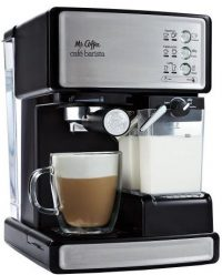 simplest pump cappuccino maker