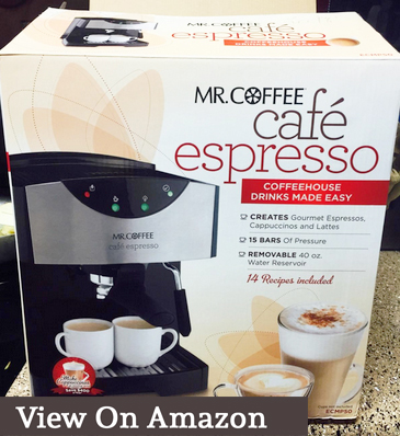 mr. coffee ecmp50 reviews