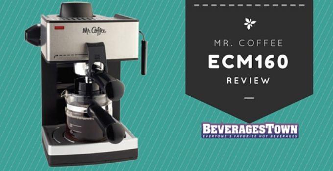 mr. coffee ecm160 review