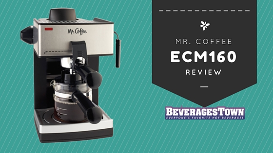 mr. coffee ecm160 review