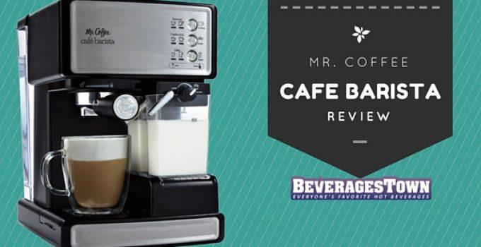 mr coffee cafe barista reviews