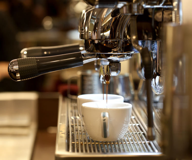 How to make cappuccino at home with coffee machine.